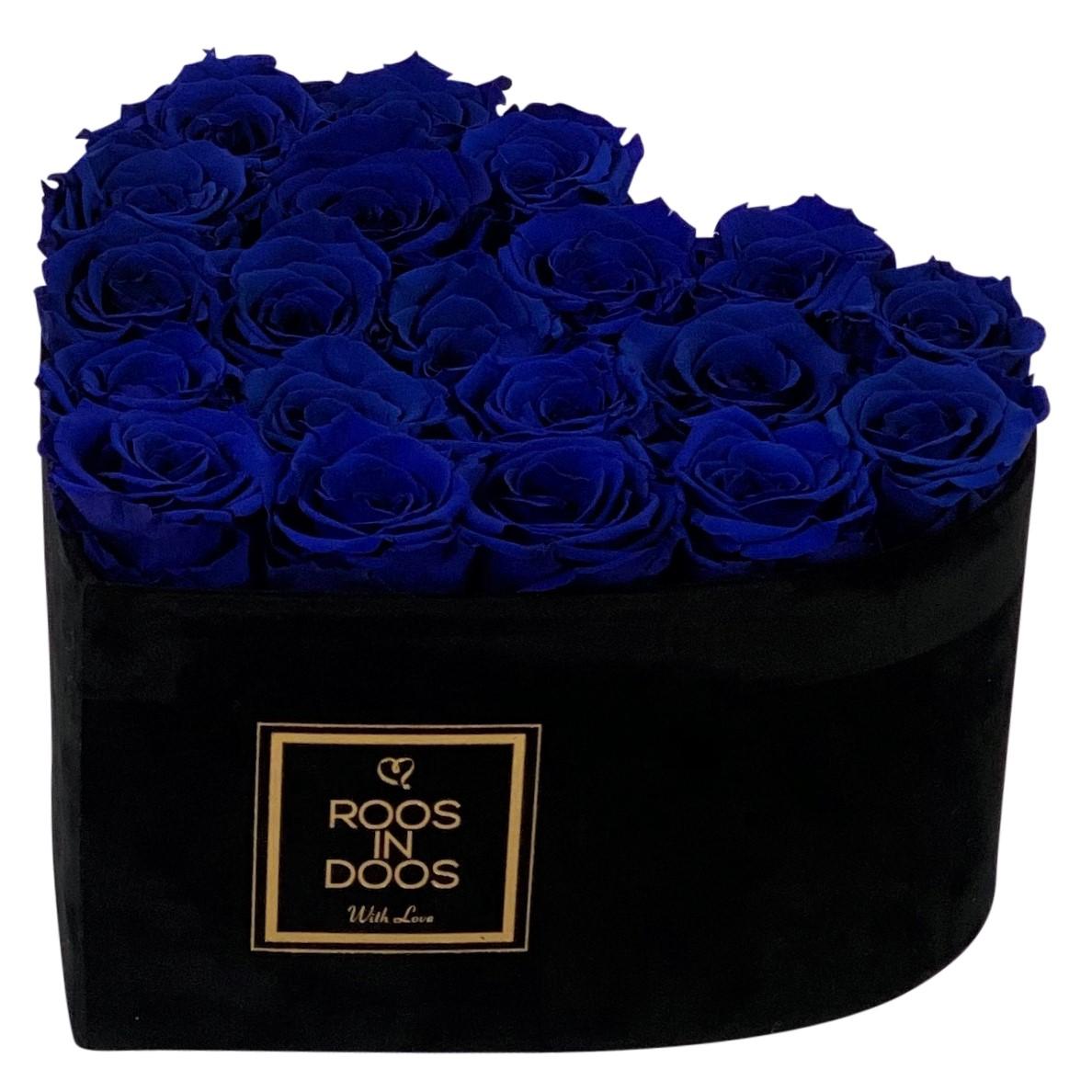 Velvet Heart Blue S