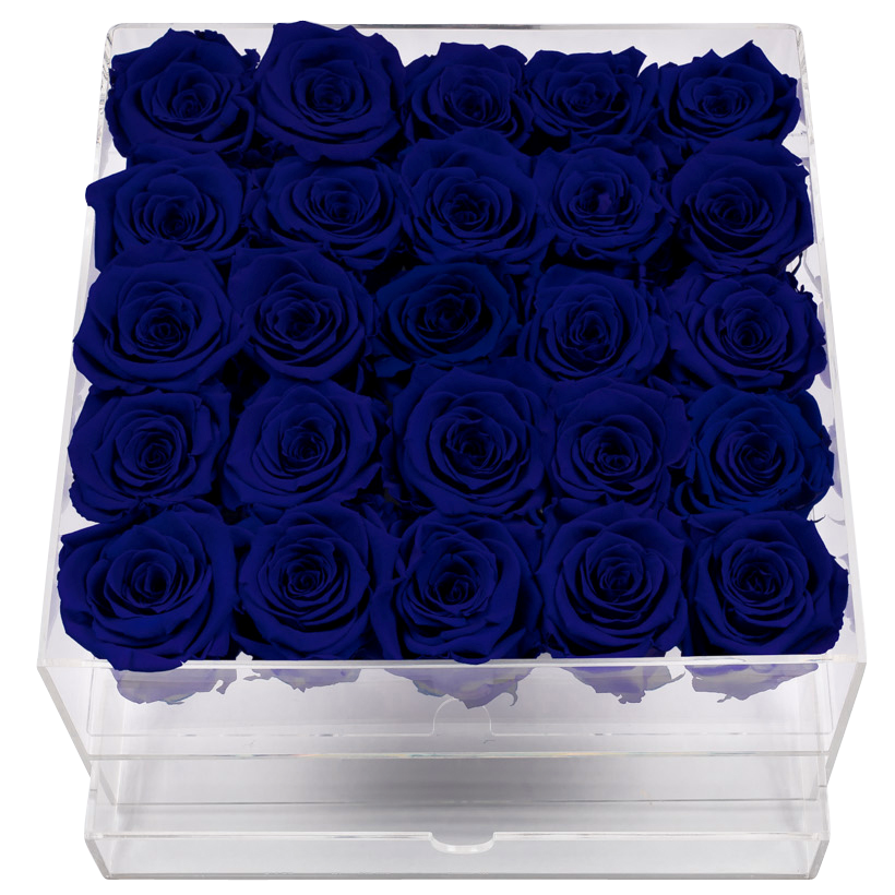 Crystal Gift Deluxe Blue