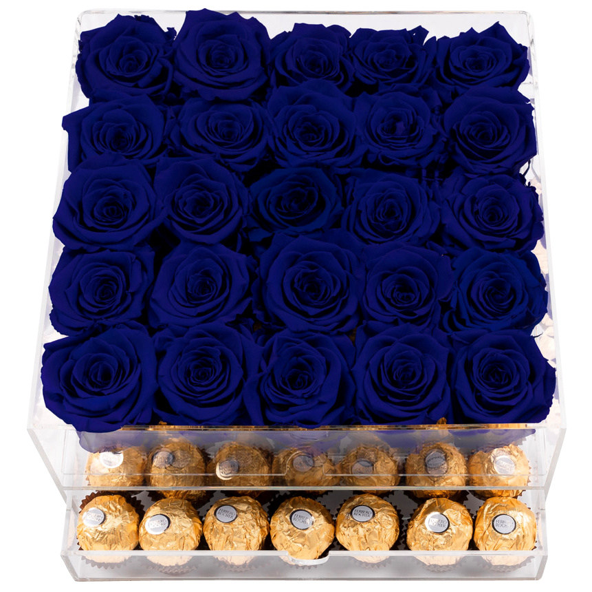 Crystal Gift Deluxe Blue Choco