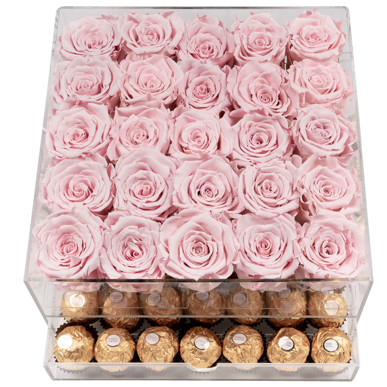 Crystal Gift Deluxe Pink Choco