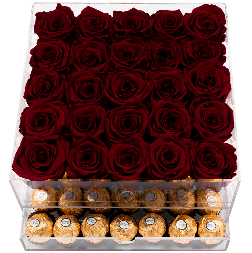 Crystal Gift Deluxe Red Choco