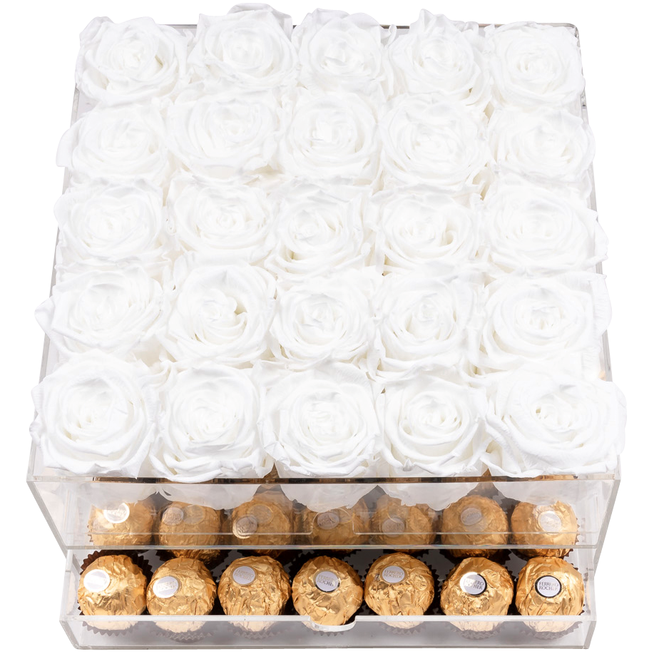Crystal Gift Deluxe White Choco